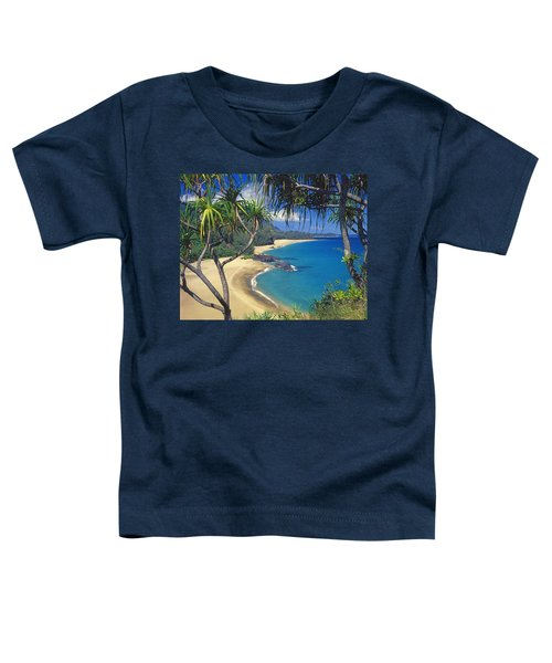 Lumahai Beach Toddler T-Shirt