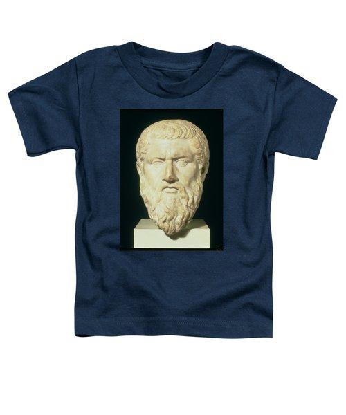 Luna Marble Head Of Plato, Roman, 1st Toddler T-Shirt