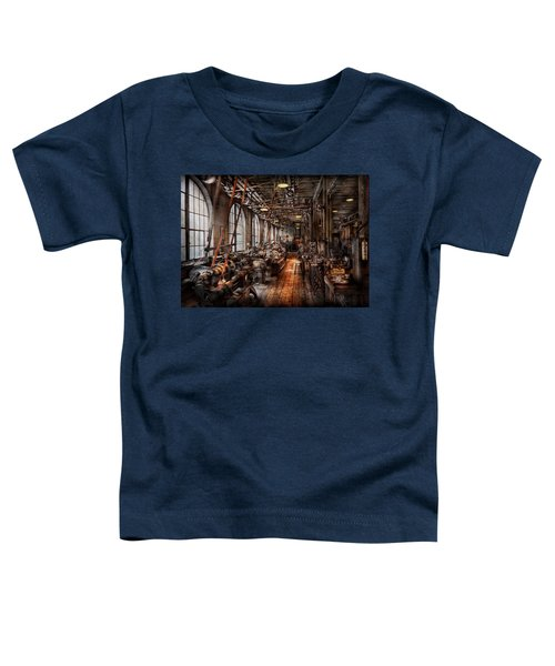Machinist - A Fully Functioning Machine Shop  Toddler T-Shirt