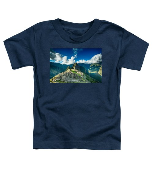 Machu Picchu Toddler T-Shirt