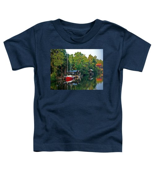 Magnolia Red Boat Toddler T-Shirt