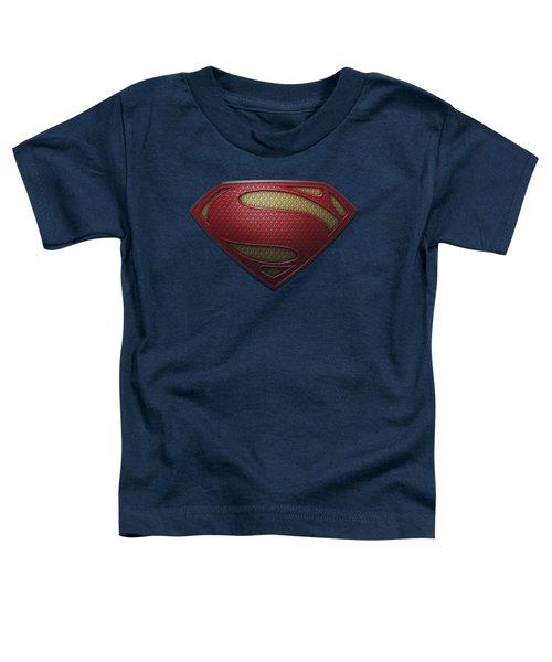 Man Of Steel - Mos Shield Toddler T-Shirt