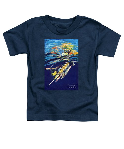Marlin Catch Toddler T-Shirt