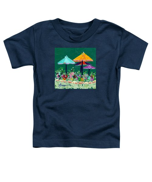 Meet Me At The Cafe Toddler T-Shirt