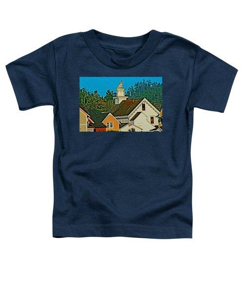 Mendocino California Toddler T-Shirt