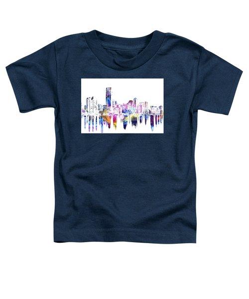 Miami Skyline Toddler T-Shirt