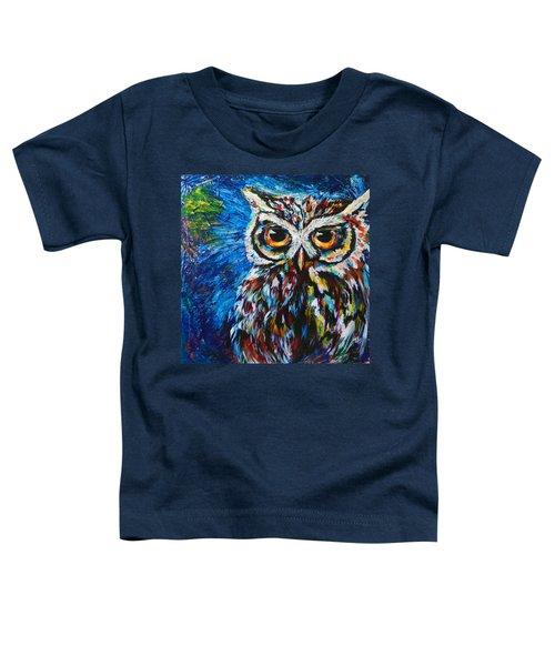 Midnite Owl Toddler T-Shirt