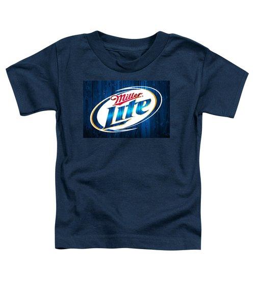 Miller Lite Barn Door Toddler T-Shirt
