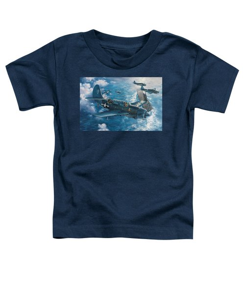 Mitscher's Hunt For The Rising Sun Toddler T-Shirt