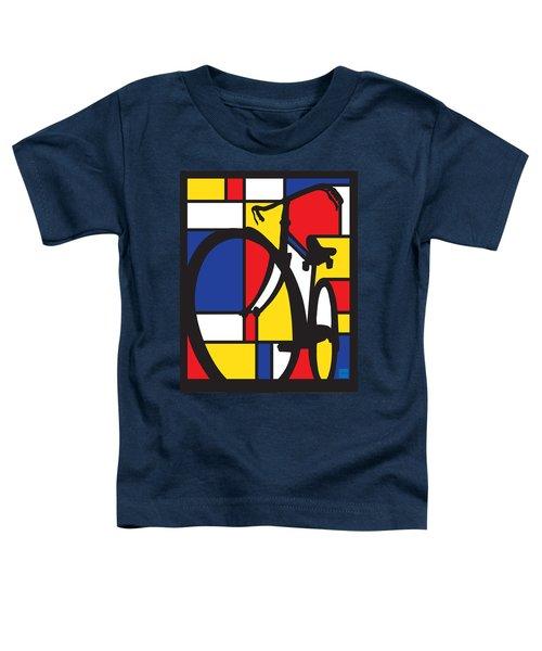 Mondrian Bike Toddler T-Shirt