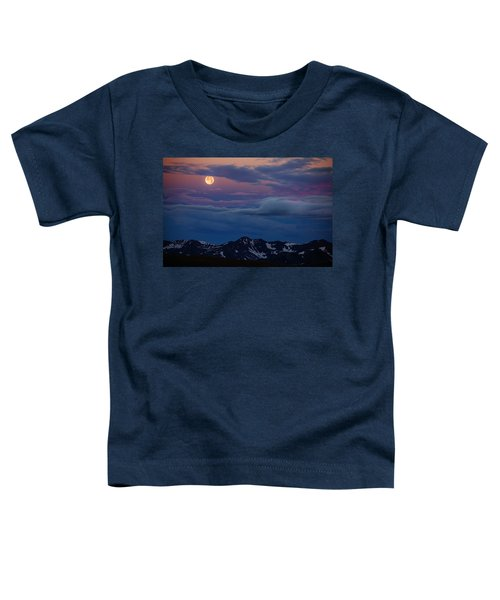 Moon Over Rockies Toddler T-Shirt