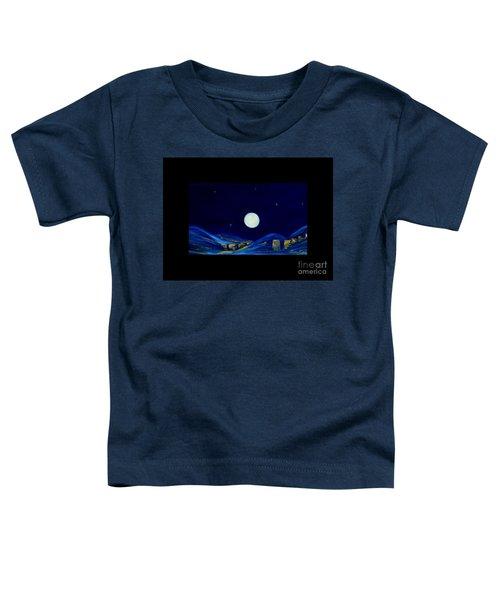 Moonlight. Winter Collection Toddler T-Shirt