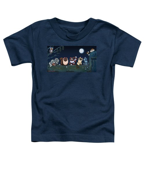 Moonlight On The Wall Toddler T-Shirt
