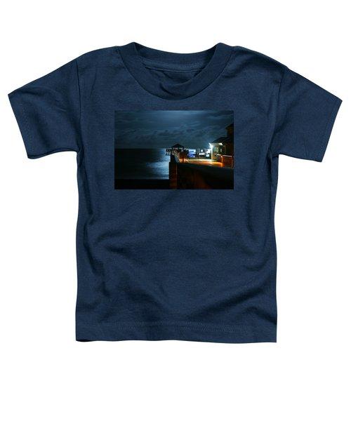 Moonlit Pier Toddler T-Shirt