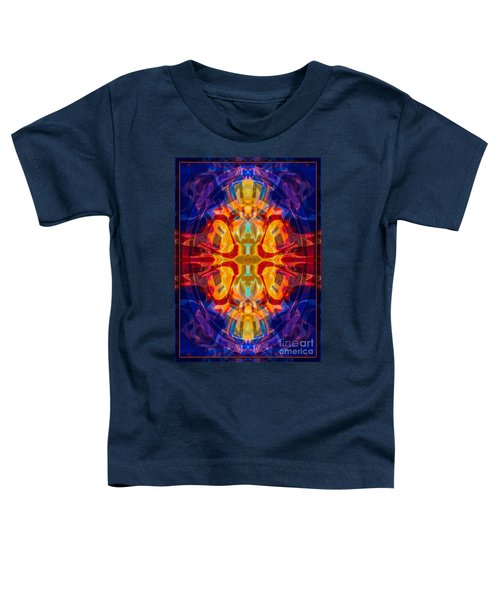 Mother Of Eternity Abstract Living Artwork Toddler T-Shirt