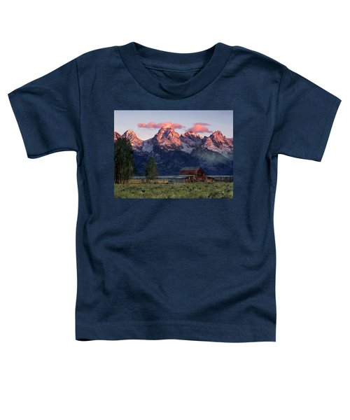 Moulton Barn Toddler T-Shirt by Leland D Howard