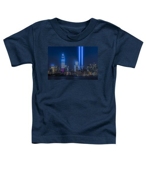 New York City Tribute In Lights Toddler T-Shirt