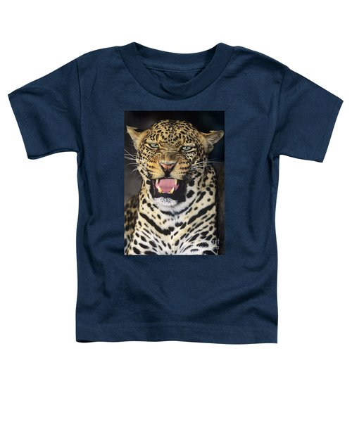 No Solicitors African Leopard Endangered Species Wildlife Rescue Toddler T-Shirt
