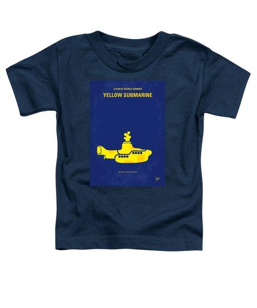 No257 My Yellow Submarine Minimal Movie Poster Toddler T-Shirt