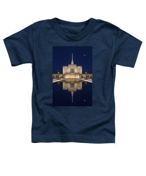 Ogden Temple Reflection Toddler T-Shirt