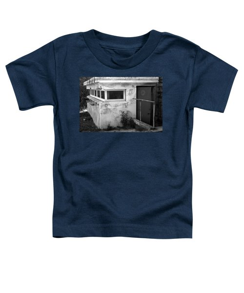 Toddler T-Shirt featuring the photograph Old Army Lookout by Miroslava Jurcik