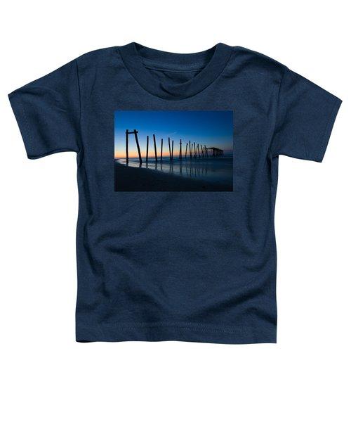 Old Broken 59th Street Pier Toddler T-Shirt