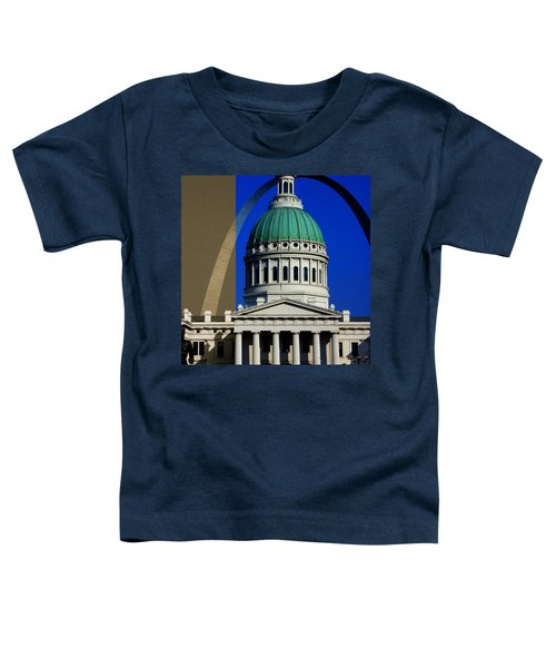 Old Courthouse Dome Arch Toddler T-Shirt