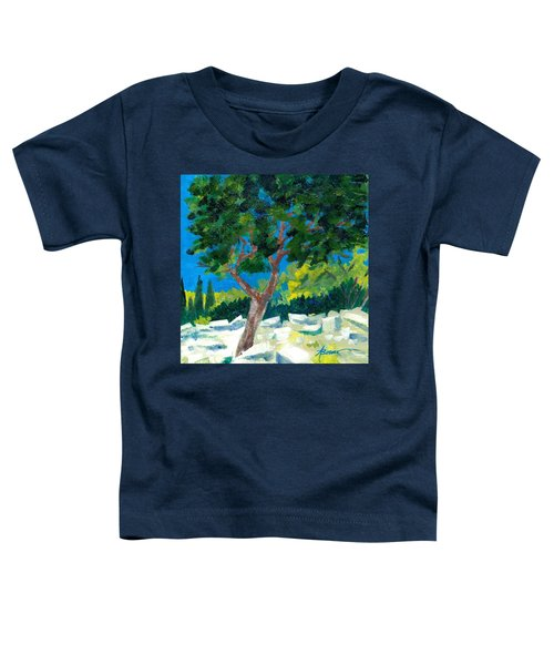 Old Ruins At Rhodes Toddler T-Shirt