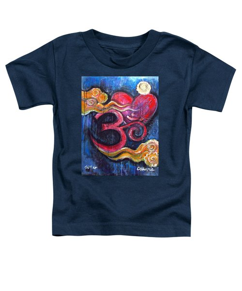 Om Heart Of Kindness Toddler T-Shirt