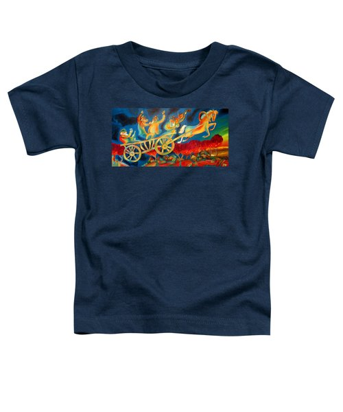On The Road To Rebbe Toddler T-Shirt