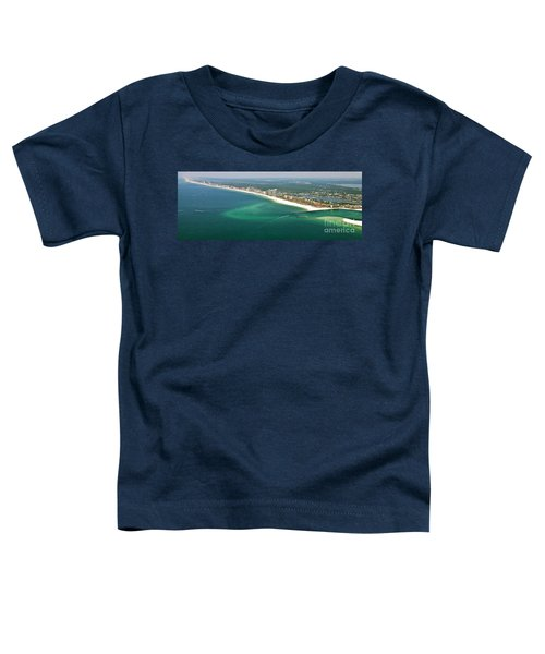 Looking N W Across Perdio Pass To Gulf Shores Toddler T-Shirt
