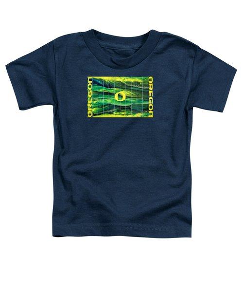 Oregon Football Toddler T-Shirt