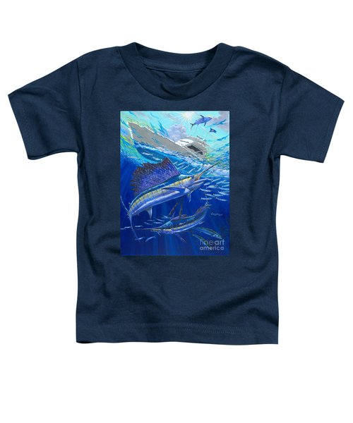 Out Of Sight Toddler T-Shirt by Carey Chen