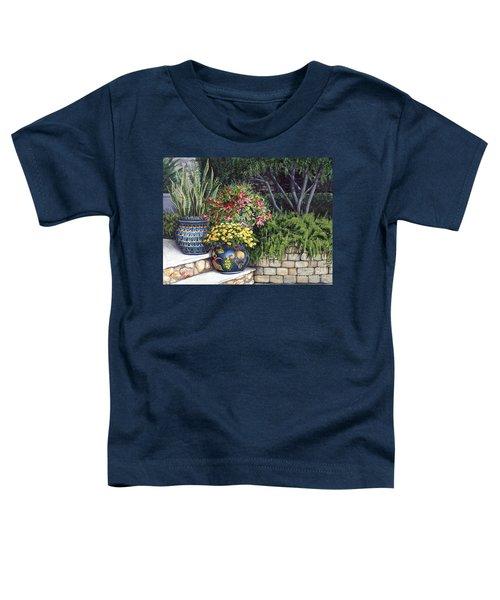 Painted Pots Toddler T-Shirt