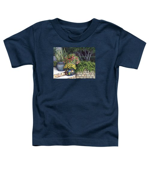 Painted Pots Toddler T-Shirt