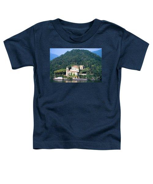 Palace At Lake Como Italy Toddler T-Shirt