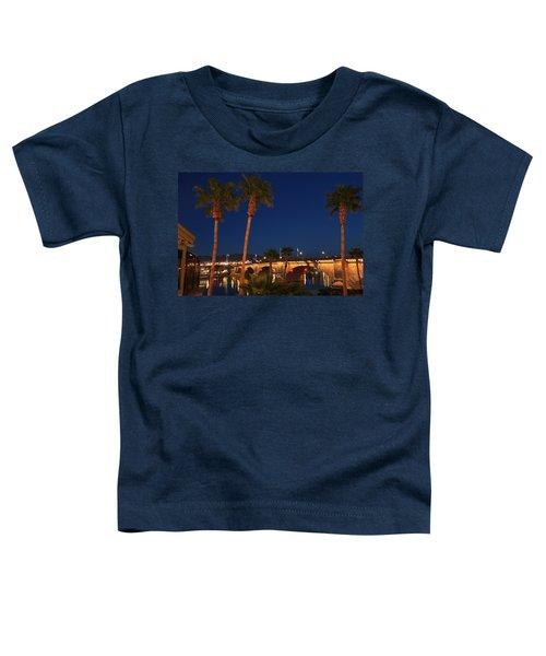 Palms At London Bridge Toddler T-Shirt