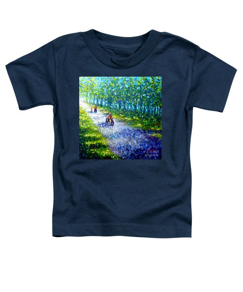 Park On St Helen Island - Montreal Toddler T-Shirt