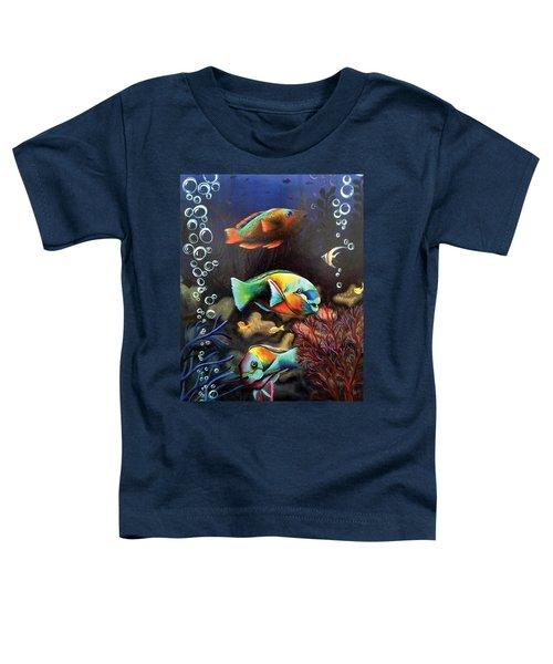 Parrot Fish Toddler T-Shirt