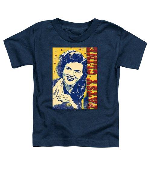 Patsy Cline Pop Art Toddler T-Shirt
