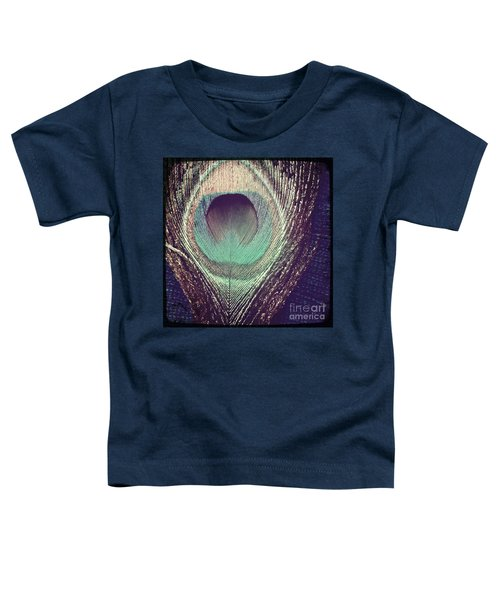 Peacock Feather Toddler T-Shirt