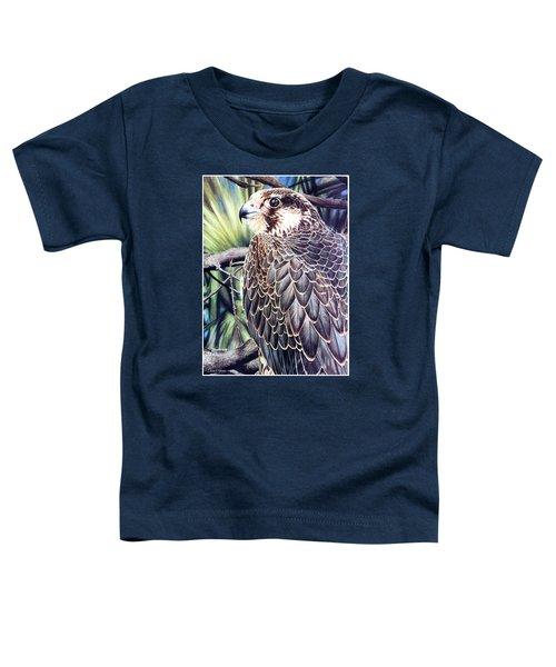 Da138 Peregrine Falcon By Daniel Adams Toddler T-Shirt