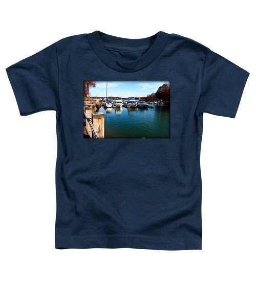 Pier Pressure - Lake Norman Toddler T-Shirt
