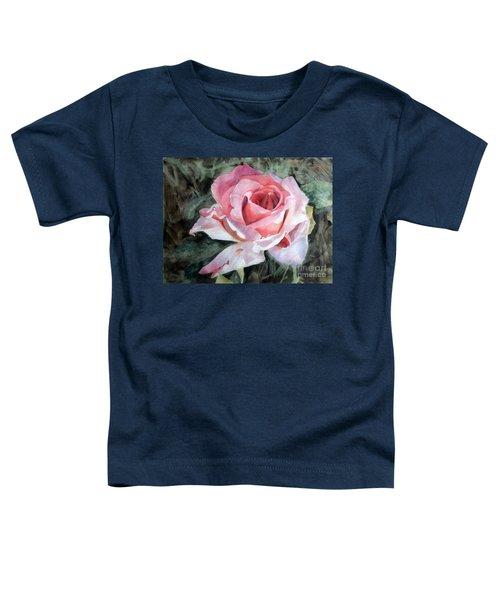 Pink Rose Greg Toddler T-Shirt