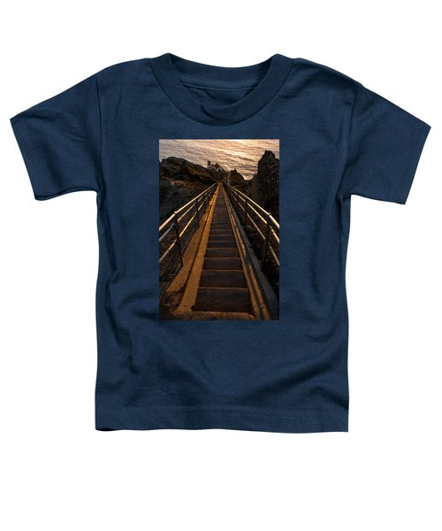 Point Reyes Lighthouse Staircase Toddler T-Shirt