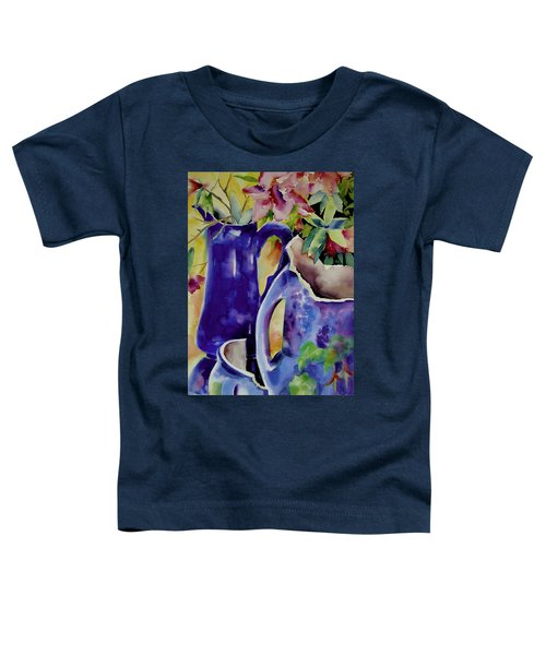 Pottery And Flowers Toddler T-Shirt