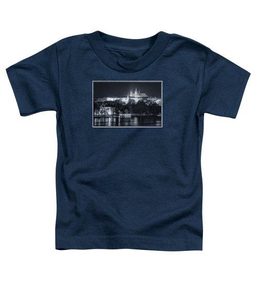 Prague Castle At Night Toddler T-Shirt