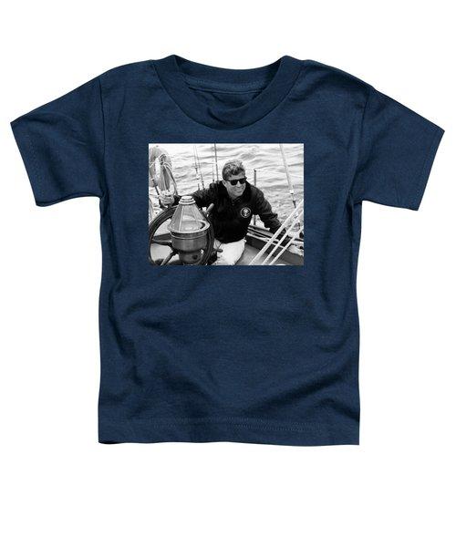 President John Kennedy Sailing Toddler T-Shirt