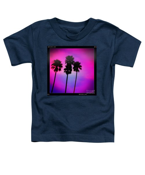 Psychedelic Palms Toddler T-Shirt