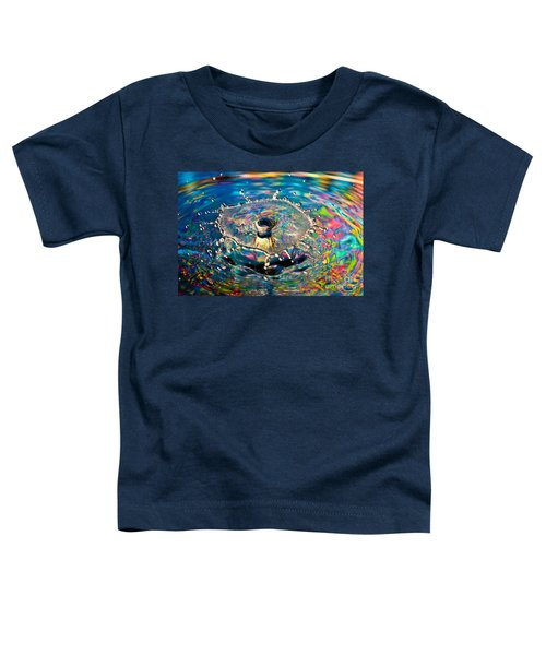 Rainbow Splash Toddler T-Shirt